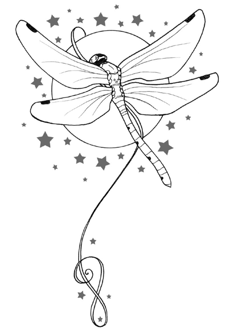 Dragonfly tattoo ideas