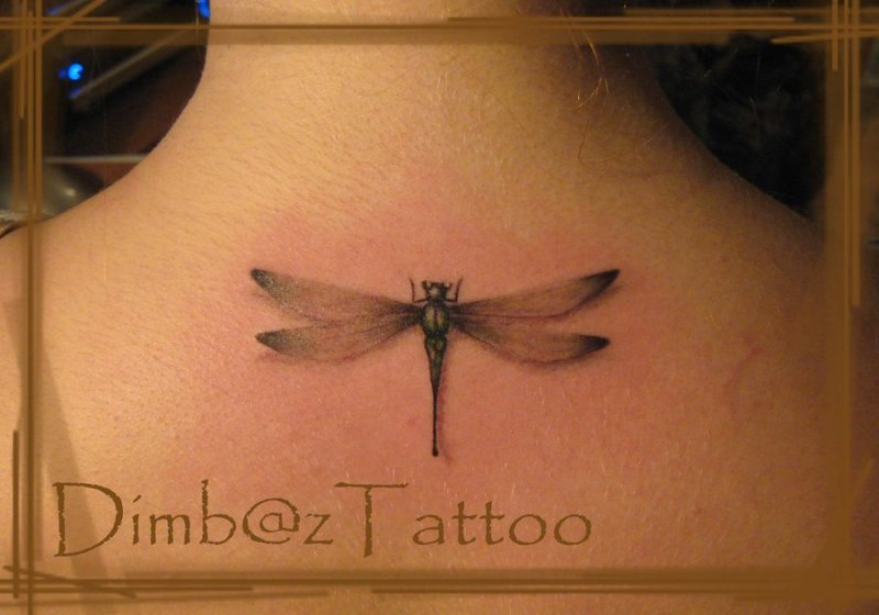 Dragonfly tattoo image 4