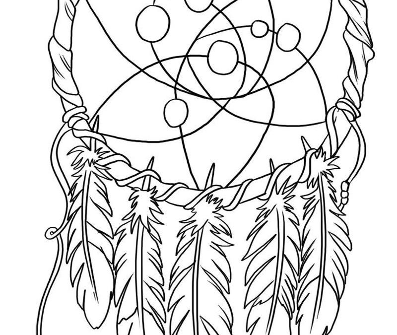 Dream catcher tattoo art 3