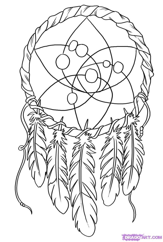 Dream catcher tattoo art 3