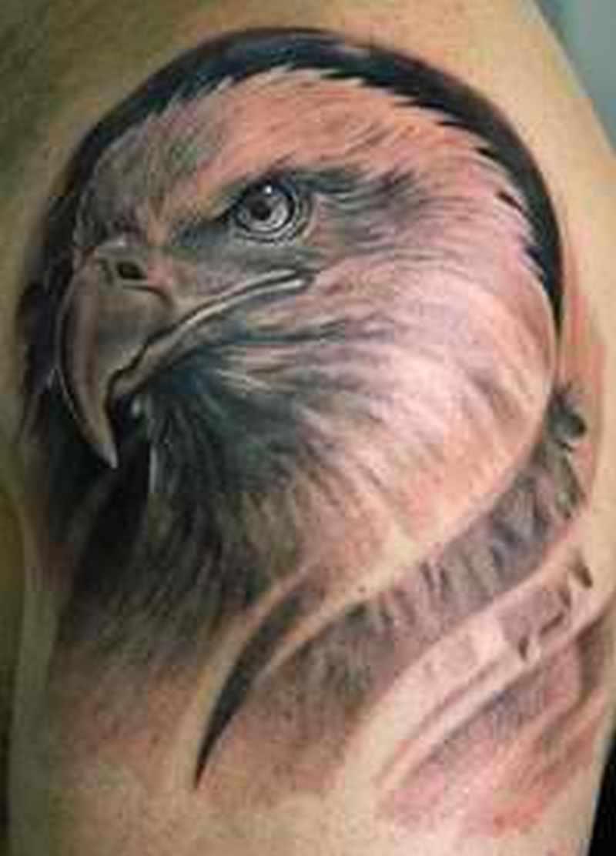 eagle face tattoo design tattoos book tattoos designs. Black Bedroom Furniture Sets. Home Design Ideas