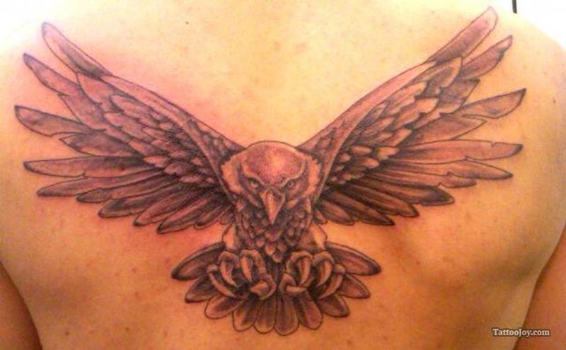 Eagle tattoo for your back tattoos book tattoos for Eagle tattoo on back