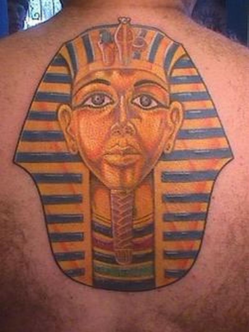 Чего значит тату фараон