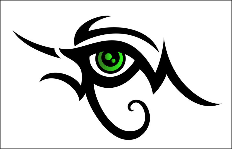 264eac6ecb929 Egyptian tribal eye tattoo design - Tattoos Book - 65.000 Tattoos ...