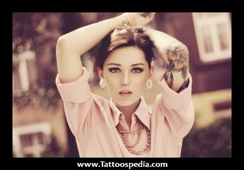 Elbow tattoos for girls