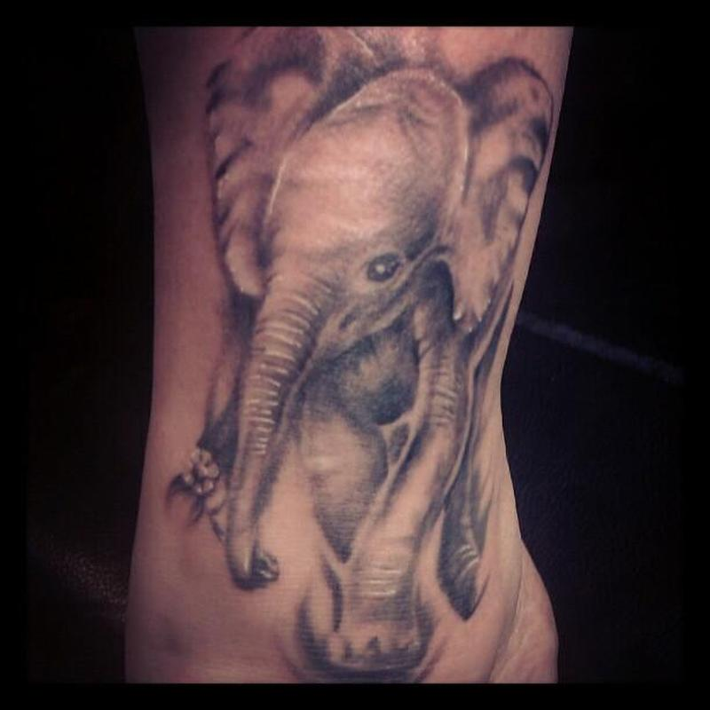 Elephant tattoo picture