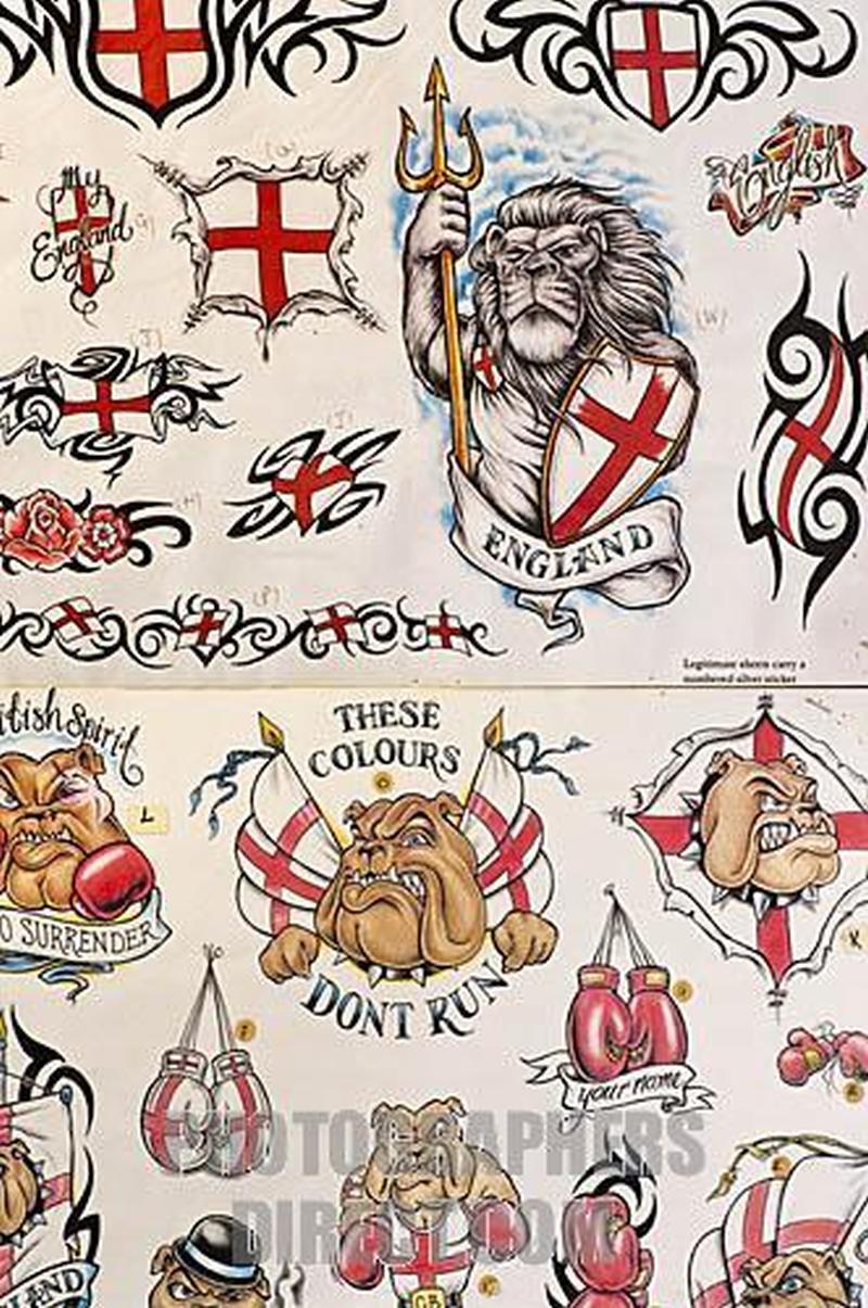 english flag tattoo designs tattoos book. Black Bedroom Furniture Sets. Home Design Ideas