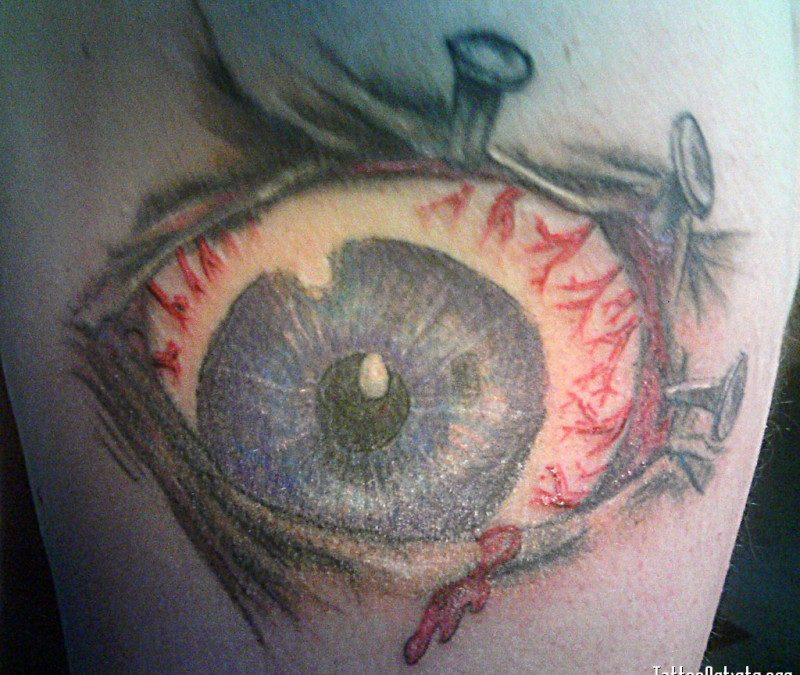 Evil eye tattoo design 3