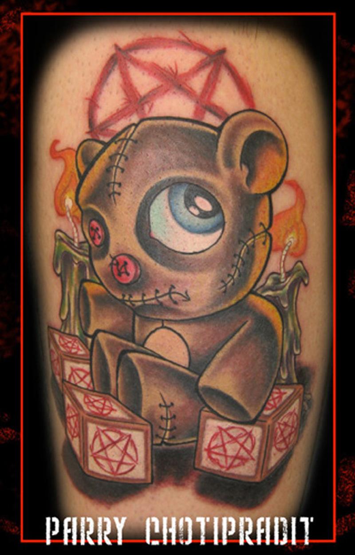 b673c34ce Evil teddy bear tattoo design - Tattoos Book - 65.000 Tattoos Designs