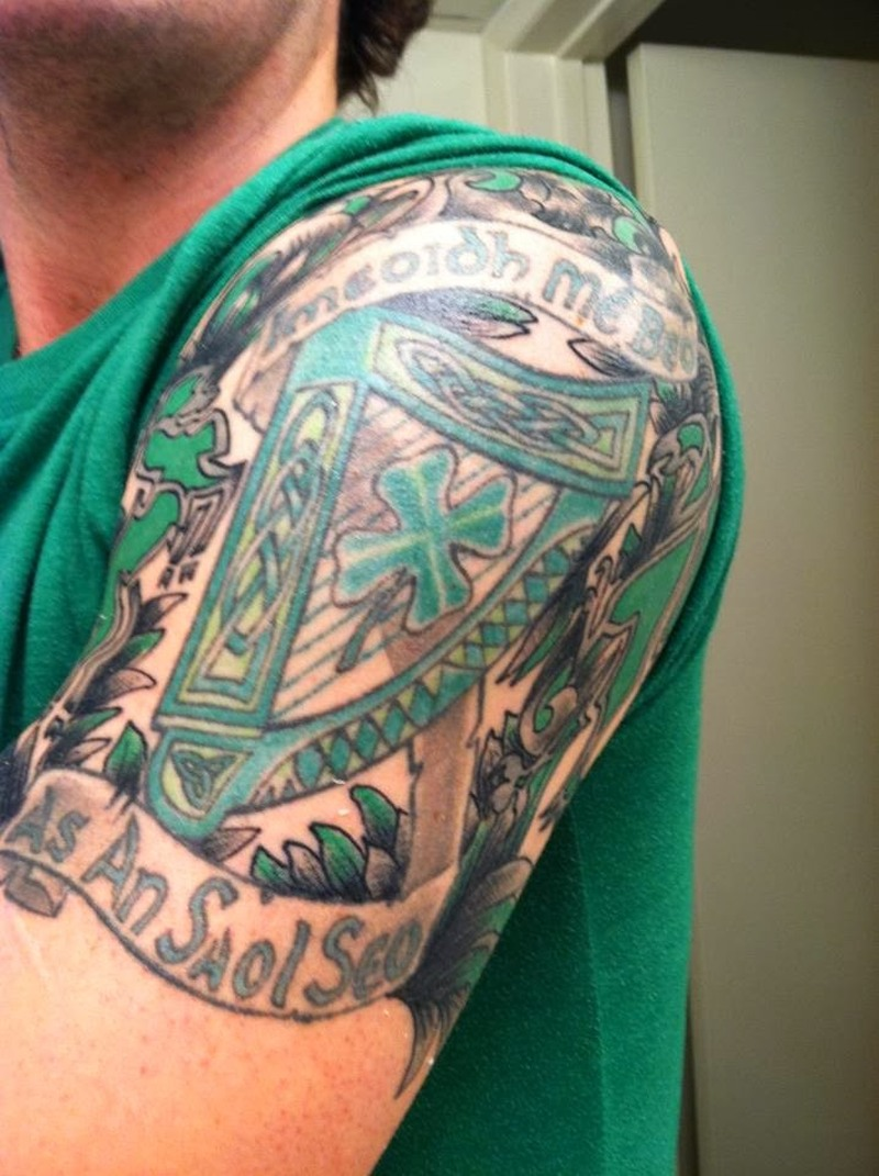 Excellent celtic tattoos for men 6