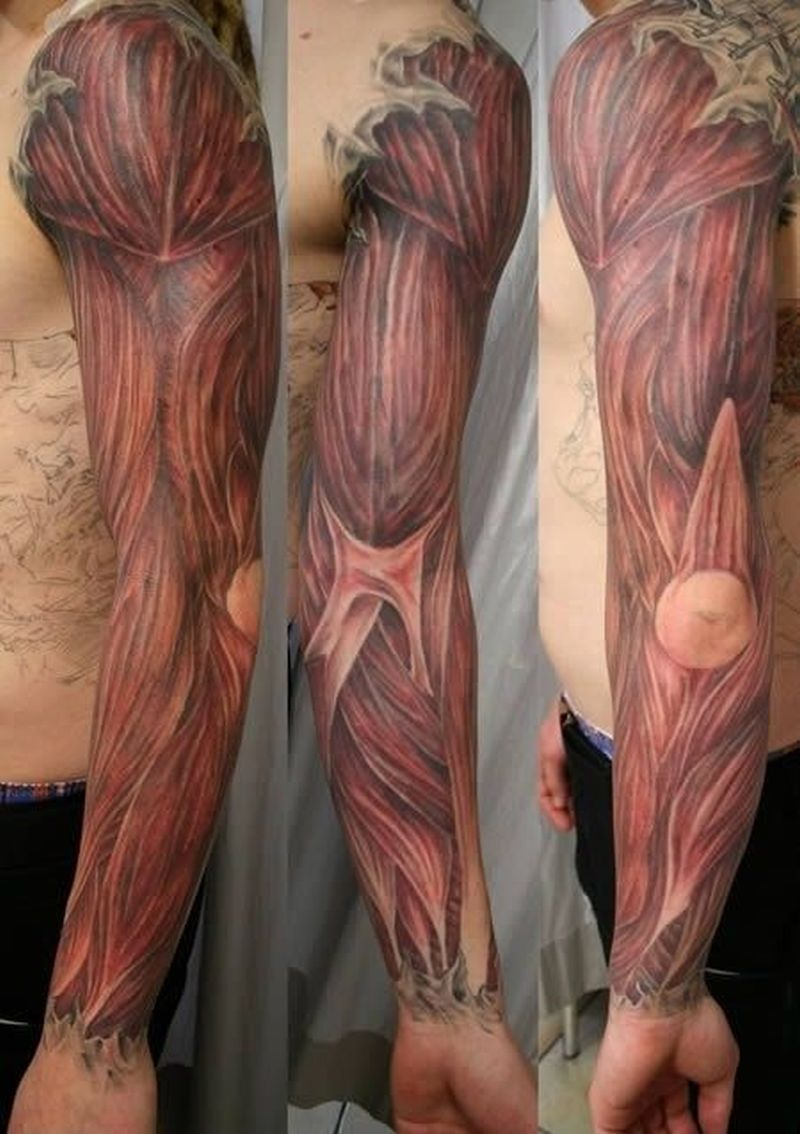 Extreme funny tattoo picture