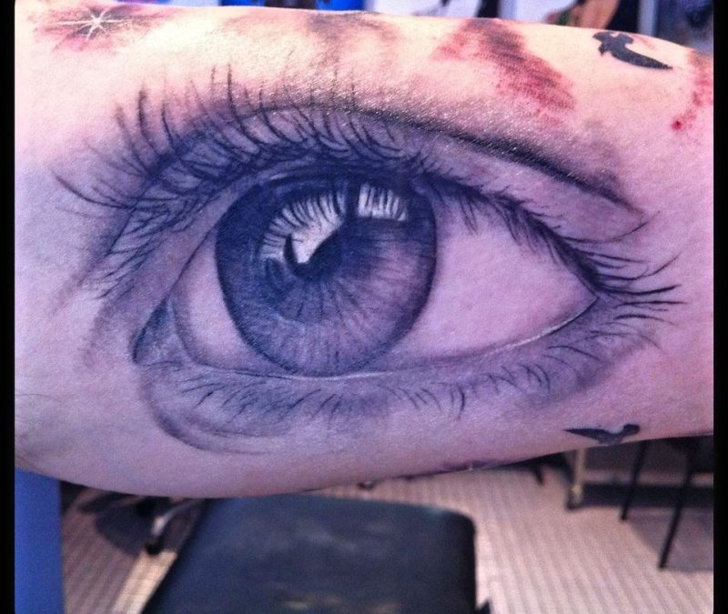 Eye tattoo picture