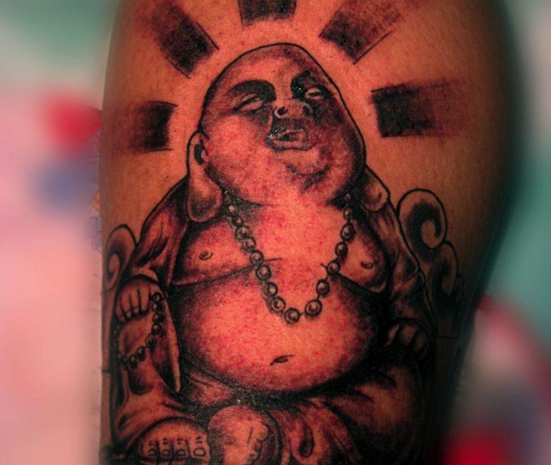 Fabulous buddhist tattoo design