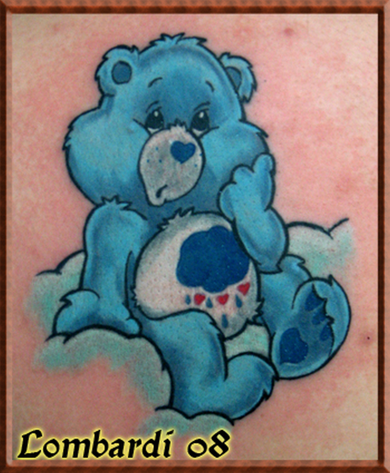 9ed39fd0f Fabulous care bear tattoo design - Tattoos Book - 65.000 Tattoos Designs