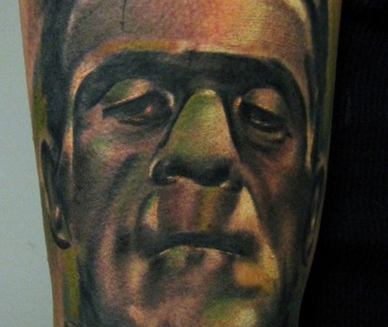 Fabulous horror tattoo design 2