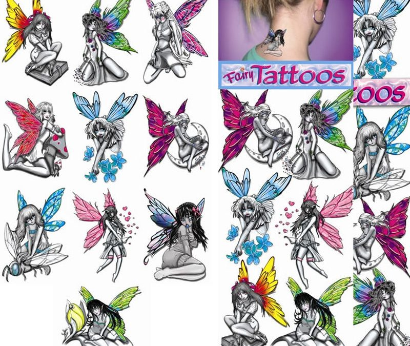 Fairy tattoo collection