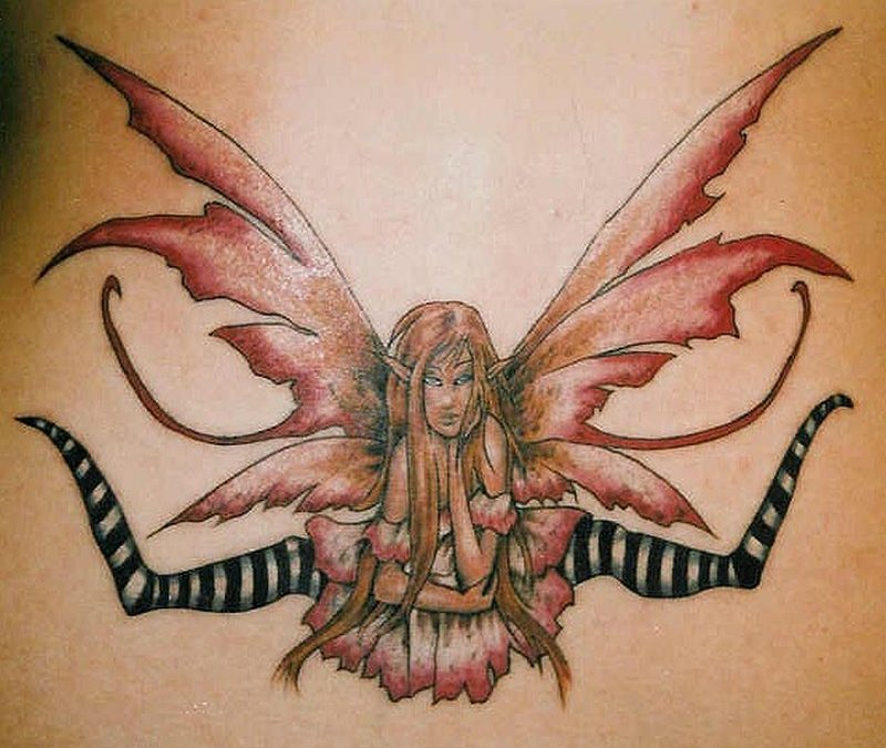Fairy tattoo picture 2