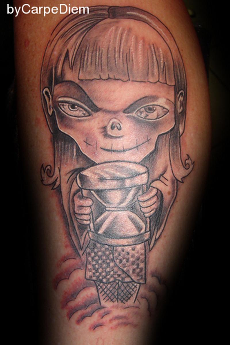 Fantastic fantasy tattoo design