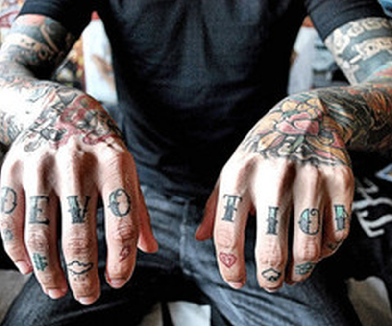 Fantastic finger tattoo designs
