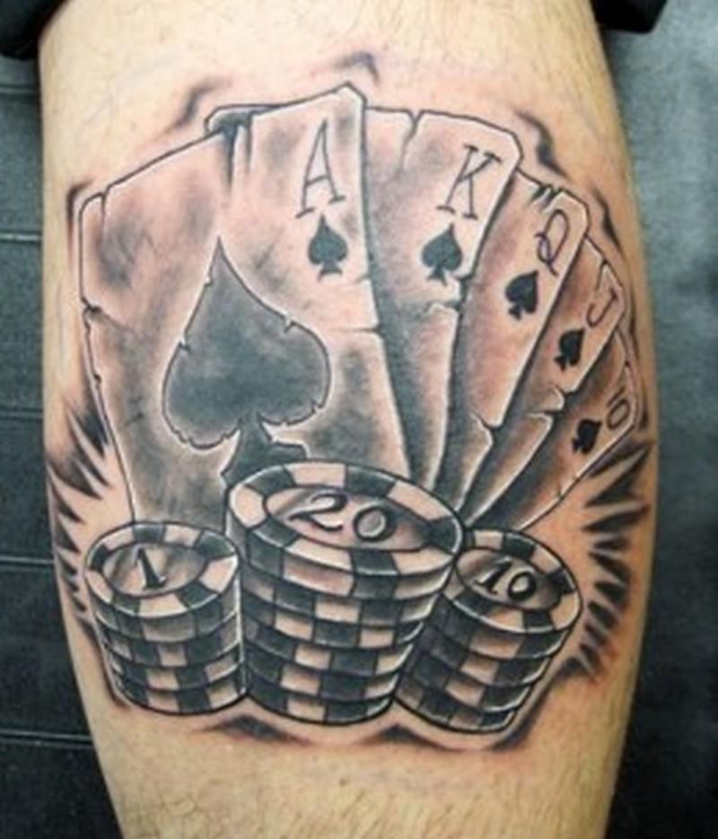 Gambling Tattoo