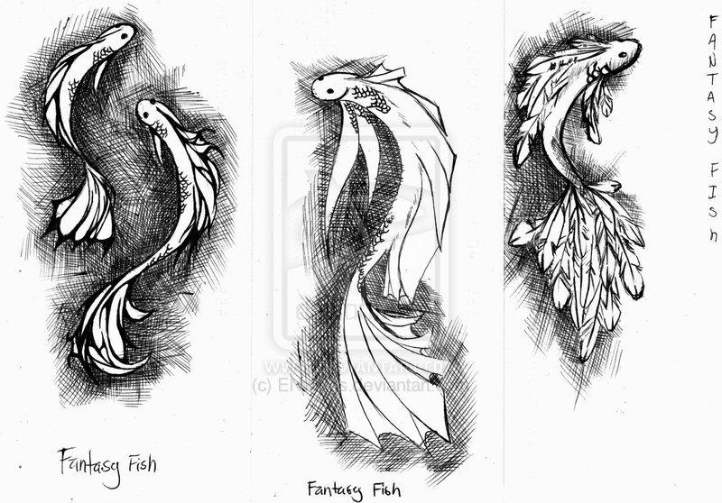 fantasy fish tattoo designs tattoos book tattoos designs. Black Bedroom Furniture Sets. Home Design Ideas