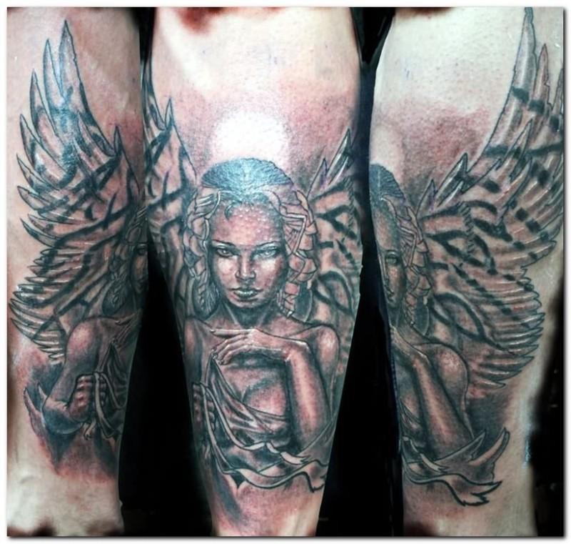 Fantasy tattoo design picture