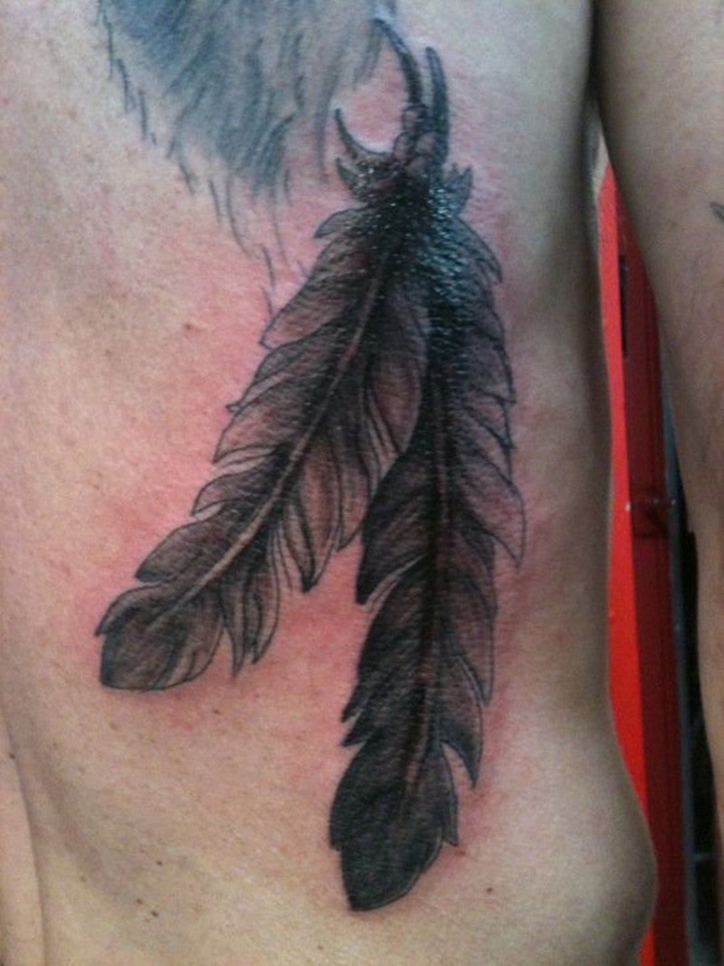 cca3f9dbc Feathers tattoo for men - Tattoos Book - 65.000 Tattoos Designs