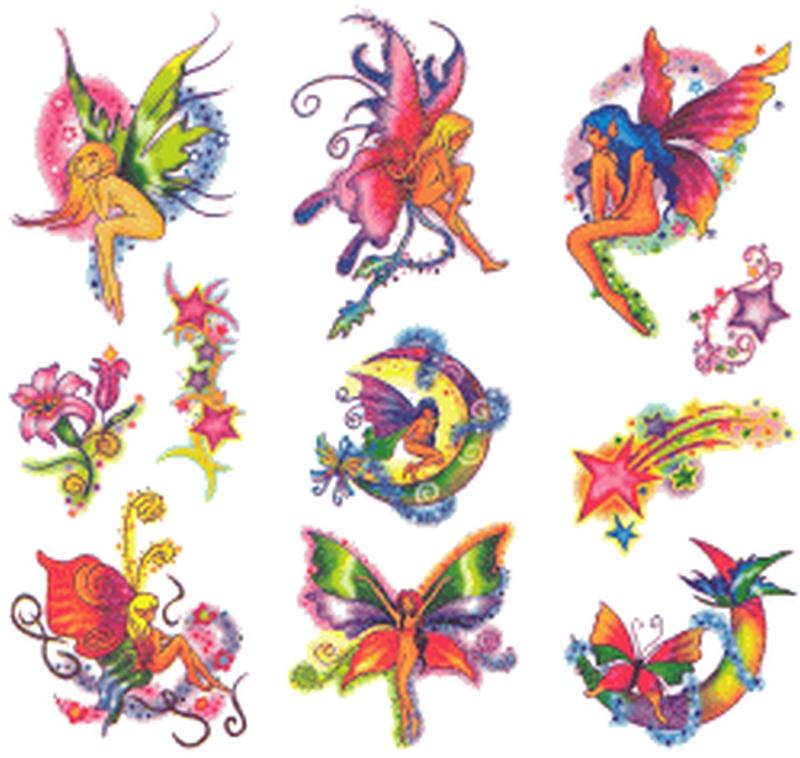Feminine fairy tattoo designs