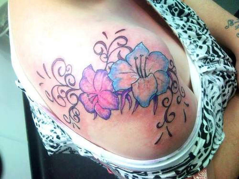 Feminine tattoo for your shoulder tattoos book for Feminine tattoos with meaning