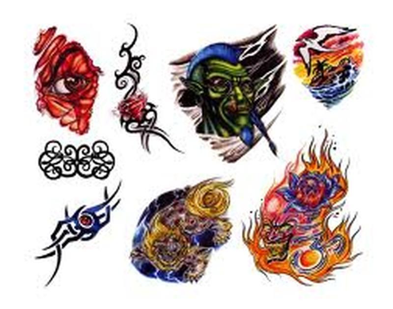 Few fantasy tattoo designs