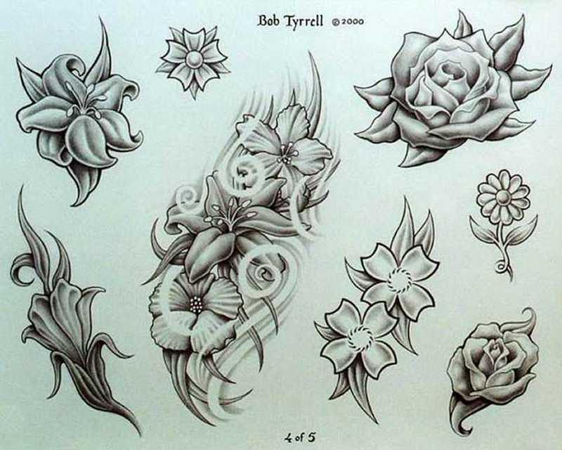 Orchid flower tattoo on rib side - Tattoos Book - 65.000 Tattoos Designs