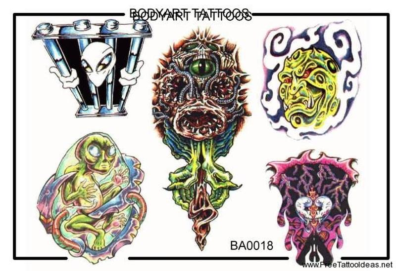 Filed under alien tattoos