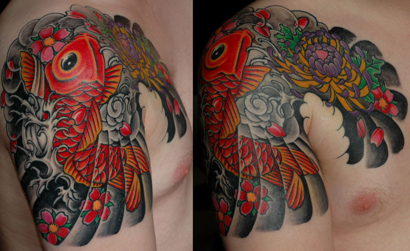 Fishy japanese tattoo designs