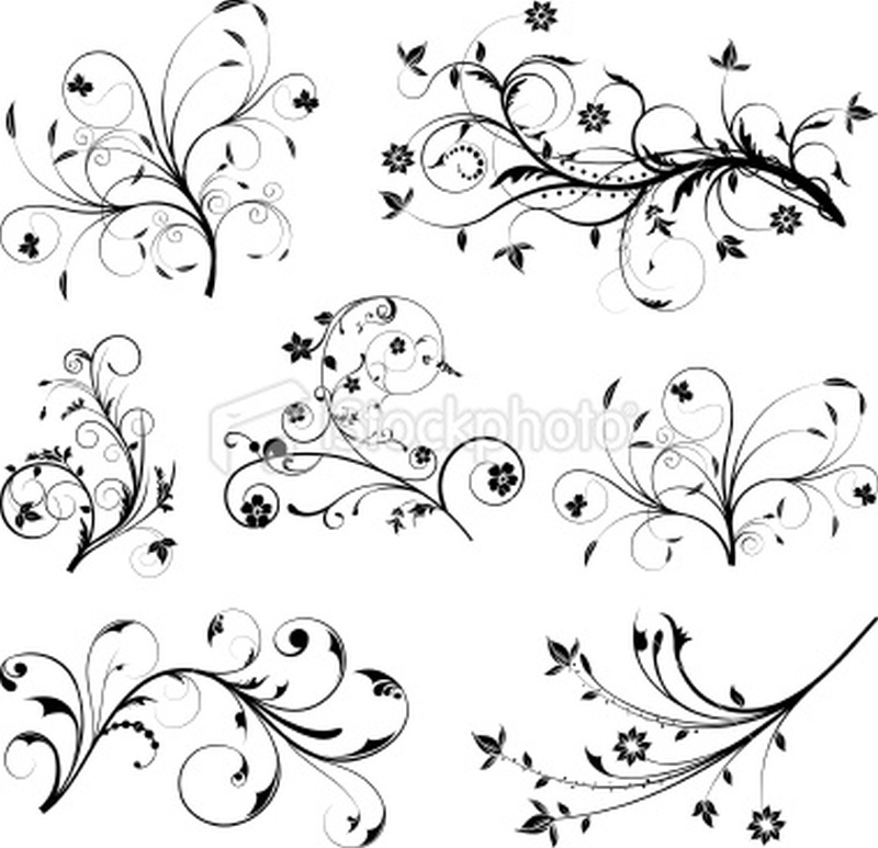 Floral tattoo pack