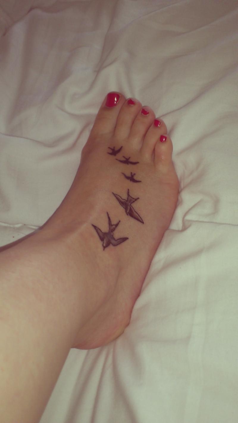 Татуировки на руке и ноге для девушки фото