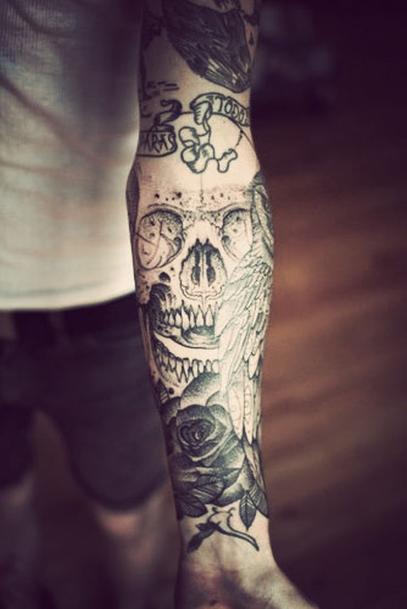 19731ef0eff69 Forearm sleeve tattoo - Tattoos Book - 65.000 Tattoos Designs