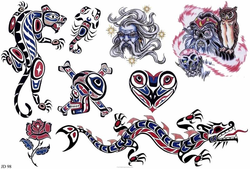 Free fantasy tattoo designs