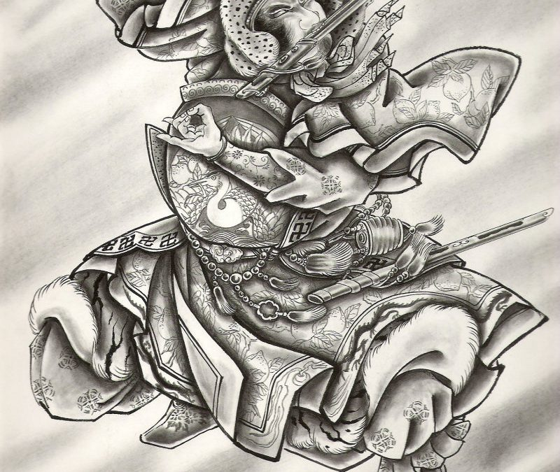 Free japanese tattoo design 2