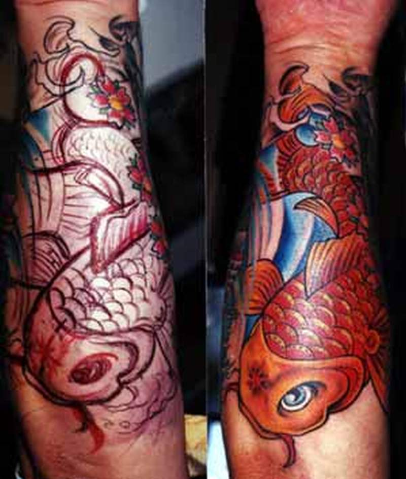freehand koi fish tattoo design tattoos book tattoos designs. Black Bedroom Furniture Sets. Home Design Ideas