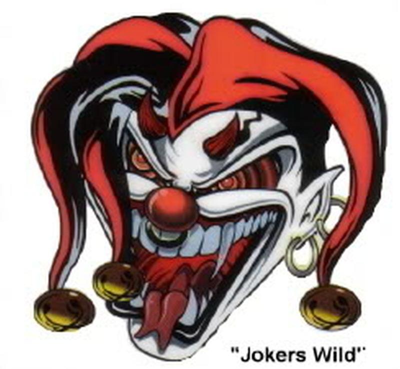 Fresh joker tattoo sample