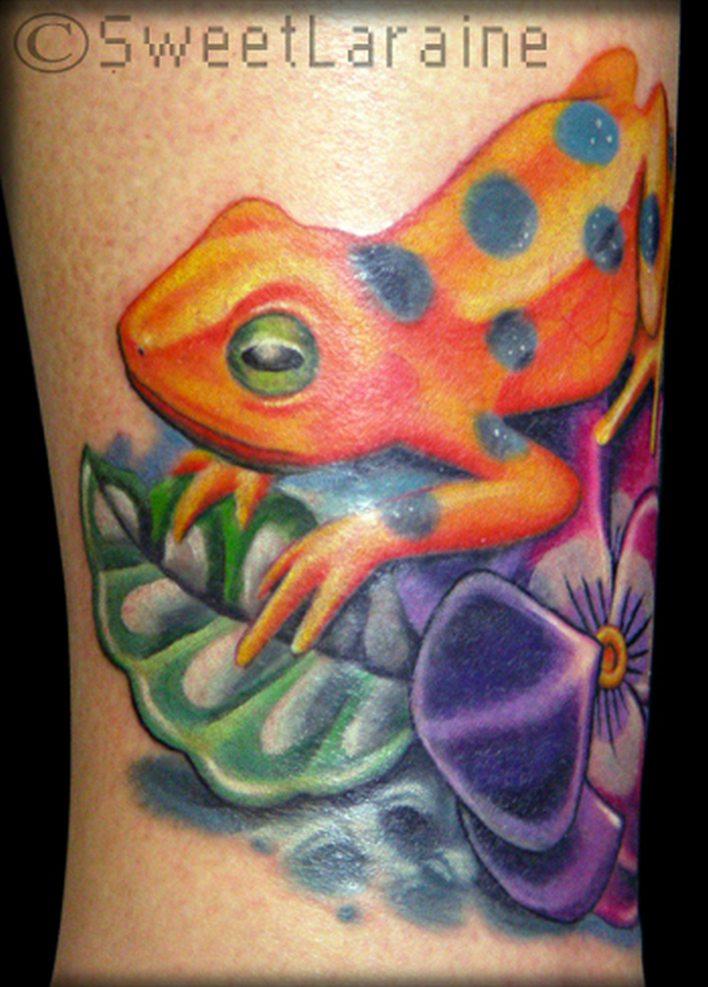 Cover Up Book : Frog cover up tattoo design tattoos book