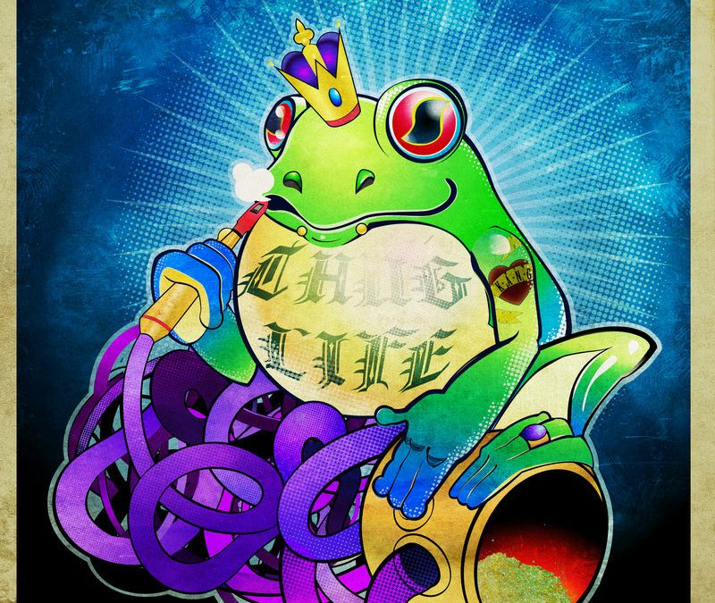 Frog king kang tattoo picture