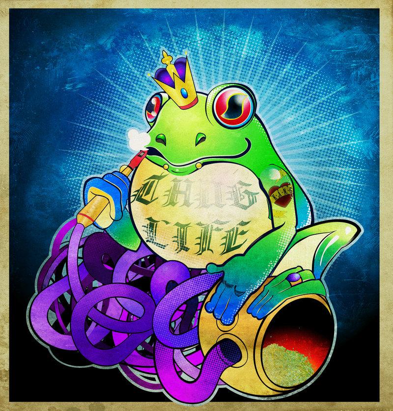 Frog king kang tattoo picture