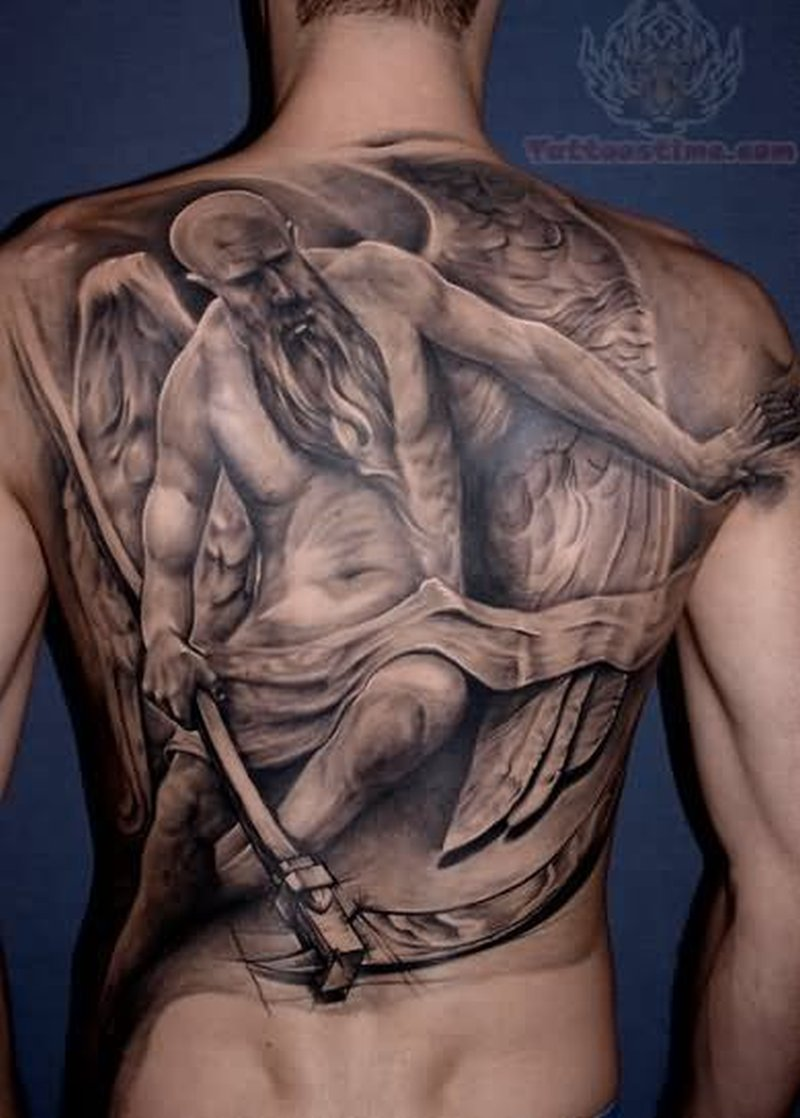 full back old angel tattoo tattoos book tattoos designs. Black Bedroom Furniture Sets. Home Design Ideas