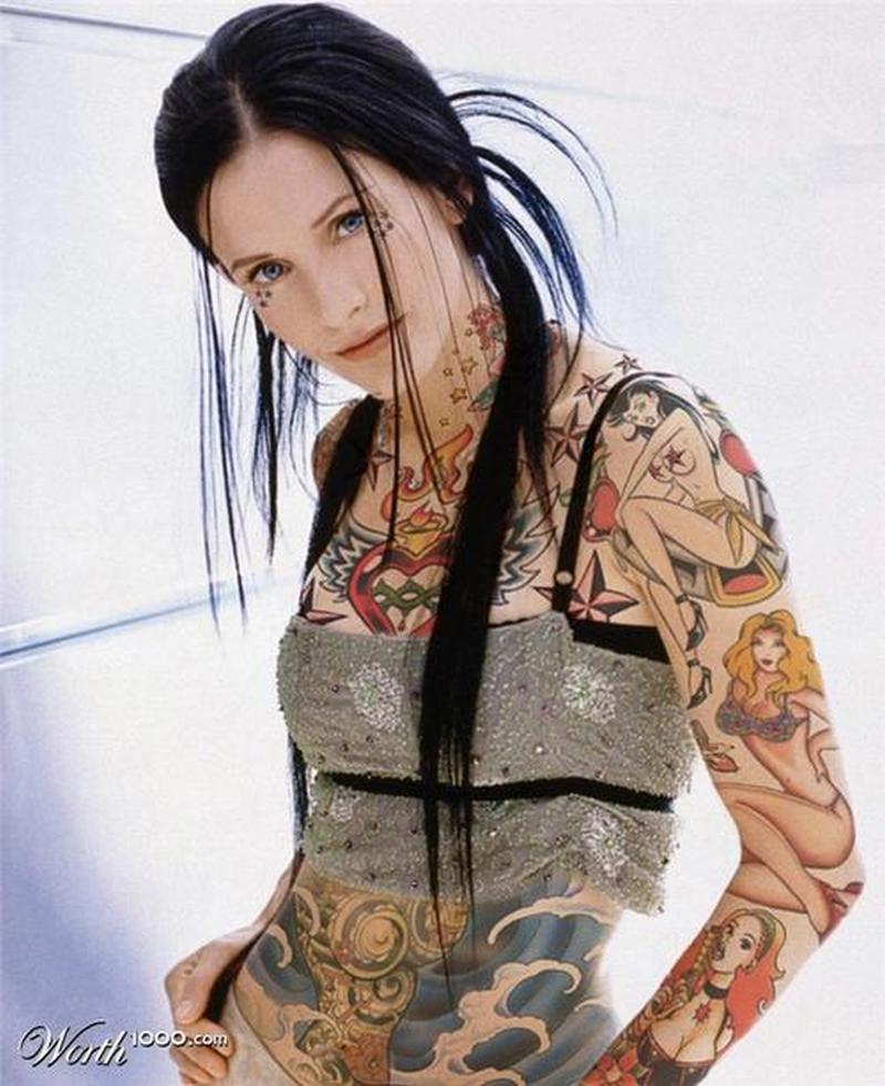 Full body art for girls tattoo tattoos book for Tattoo girl book