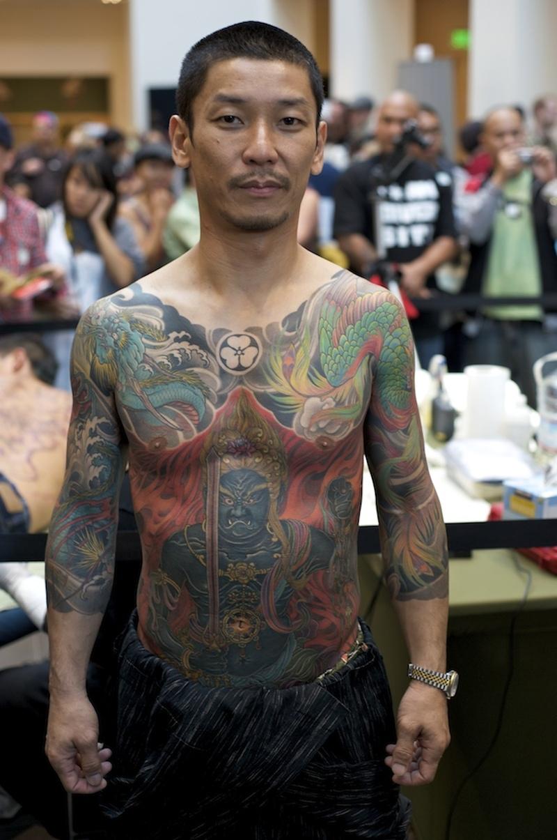 Full body japanese tattoo design 2