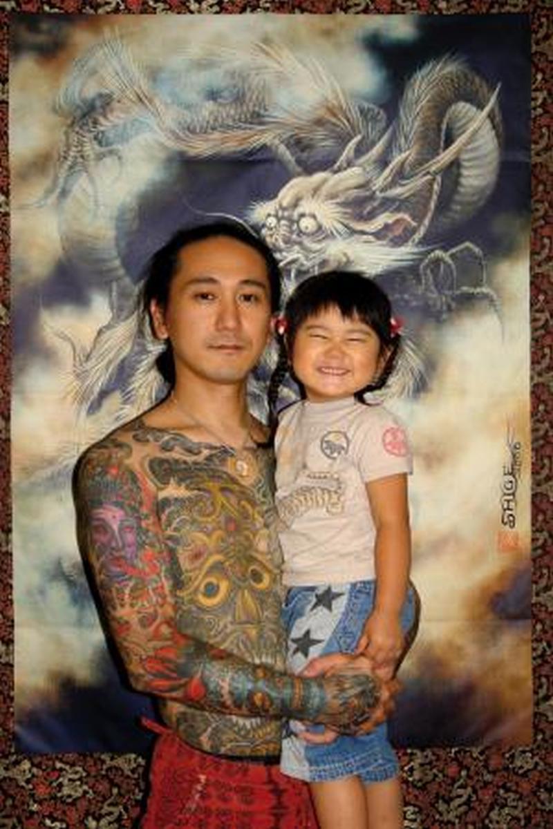 Full body japanese tattoo design