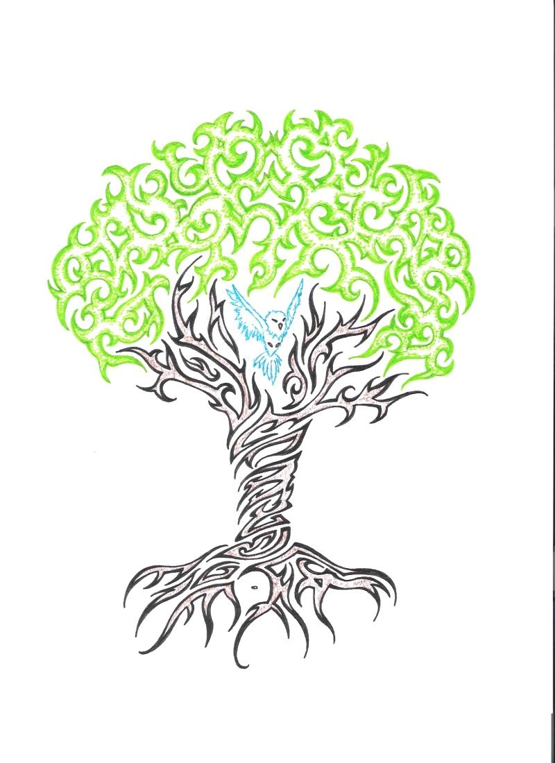 Funky tree tattoo sample tattoos book tattoos for Sample of tattoo design
