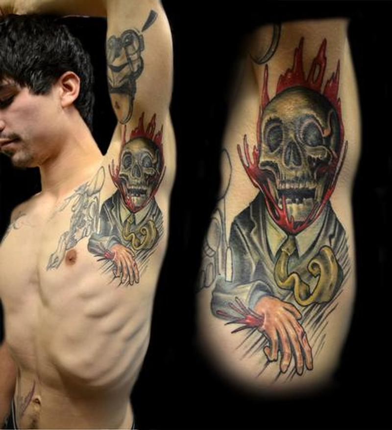 Funny Armpit Tattoo Design Tattoos Book 65000 Tattoos