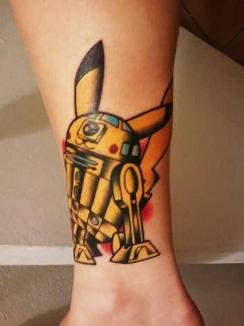 Funny Pokemon Tattoo Design Tattoos Book 65 000 Tattoos Designs